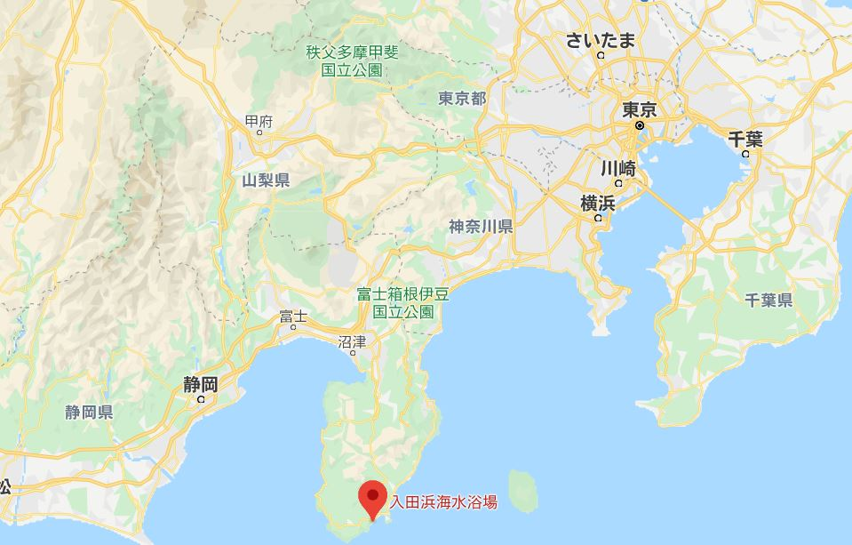 入田浜海水浴場広域
