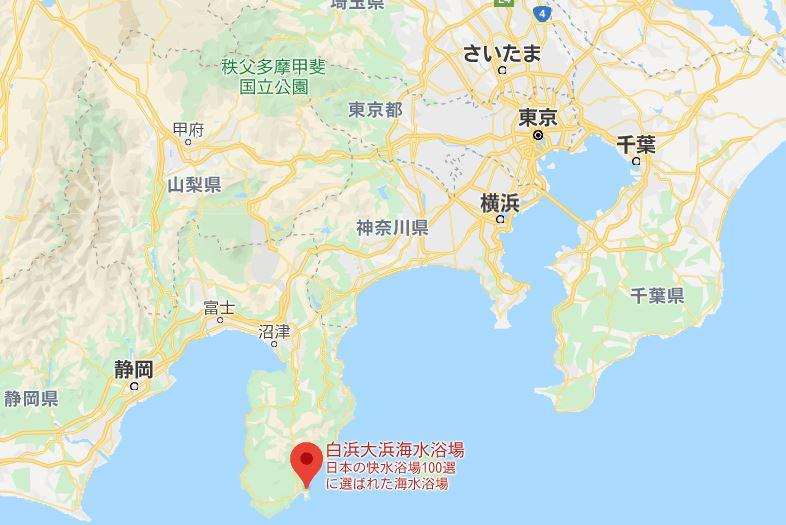 白浜大浜海水浴場広域