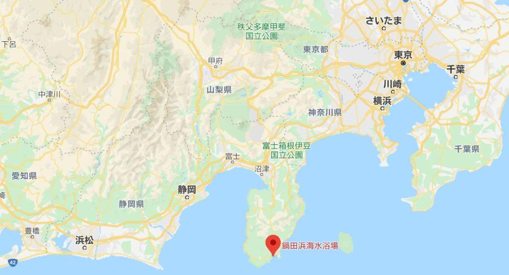 鍋田浜海水浴場海開き広域