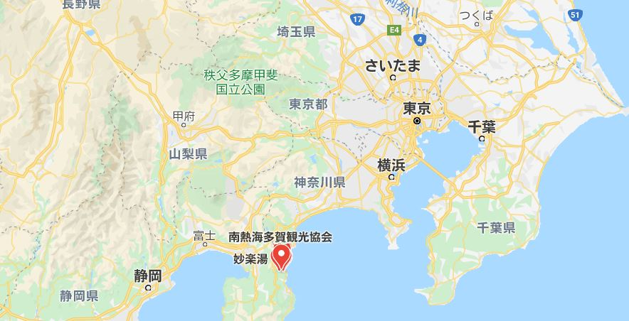長浜海水浴場拡大図