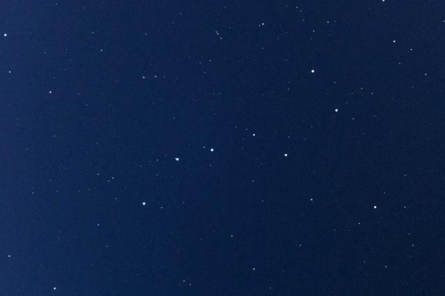 じぶんぎ座流星群夜空