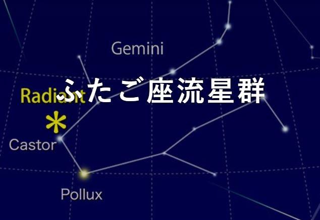 双子座流星群方角1