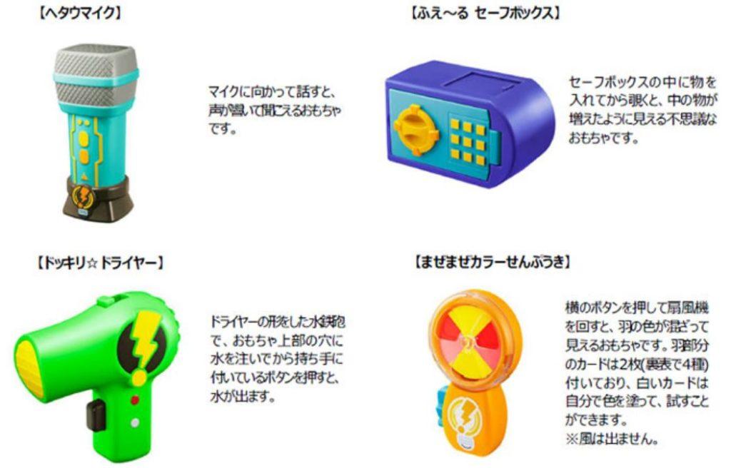ハッピーセットおもちゃ2020年3月01