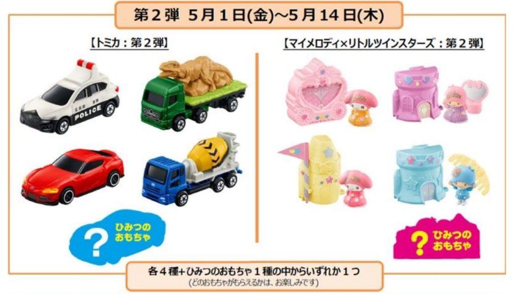 ハッピーセット5月おもちゃ202002