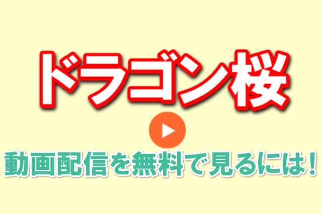 ドラゴン桜動画配信無料1