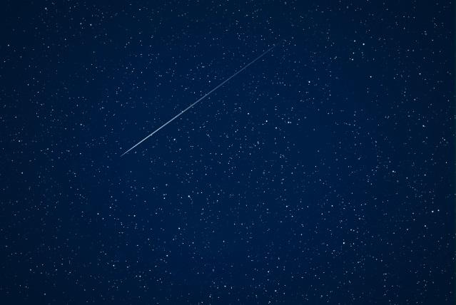 ペルセウス流星群の方角1