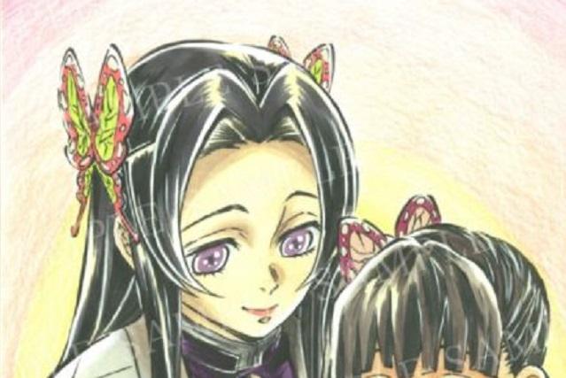 胡蝶カナエの髪型